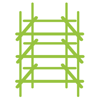 rakennustelineet rakennuskonevuokraamo